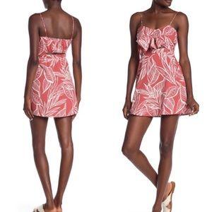 Favlux Foliage Cutout Sweet Pea Mini Dress